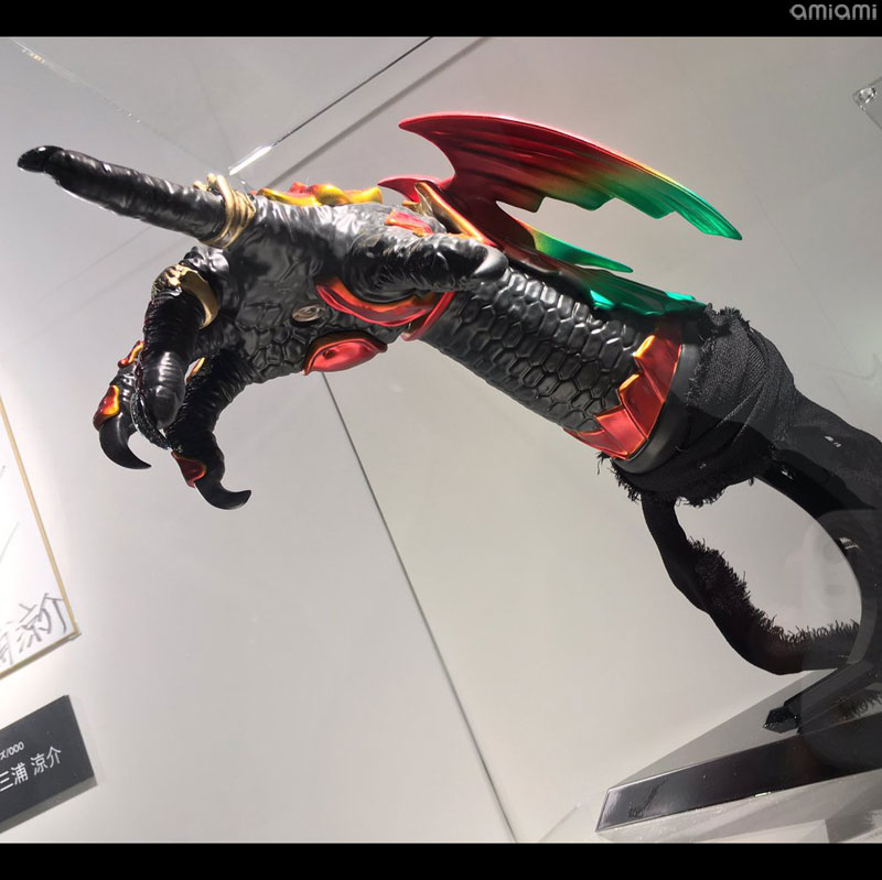 Kamen Rider OOO: Tamashii Lab Ankh Hand Replica Revealed - Orends
