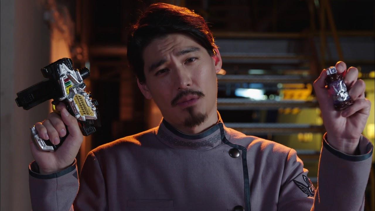 BANDAI Kamen Rider Build DX TranSteam Gun with Bat Full Bottle Japan F//S
